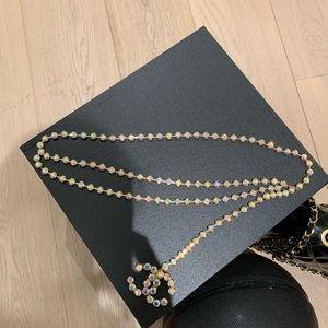 Iconic Vintage Chanel Rhinestone Belt
